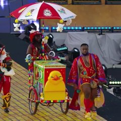 The New Day Arrives at Wrestlemania 33 With a Tribute to Final Fantasy