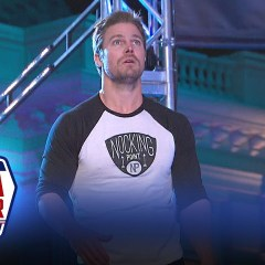 Stephen Amell cruises through American Ninja Warrior and shows us why he's the Arrow!