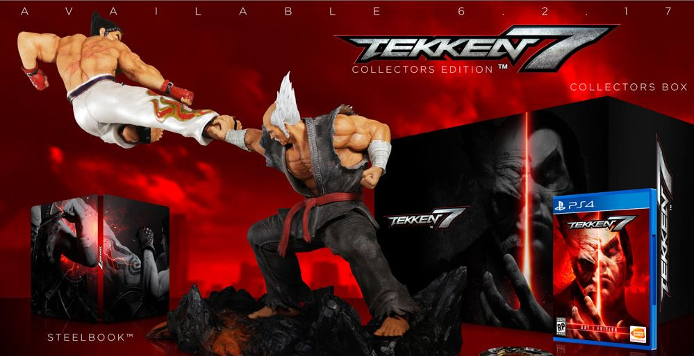 Datablitz is Now Accepting Pre-Orders for Tekken 7 - Standard, Deluxe, and Collector's Edition!