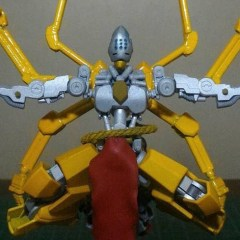 Gundam Hobbyist Passed Into The Iris and Made This Awesome Zenyatta Figure!