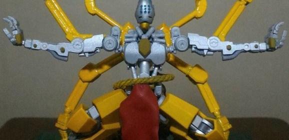 Gundam Hobbyist Passed Into The Iris and Made This Awesome Zenyatta Figure!