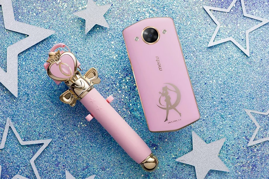 Take your selfies to the Moon Prism level with the Meitu M8 Sailor Moon Smartphone!