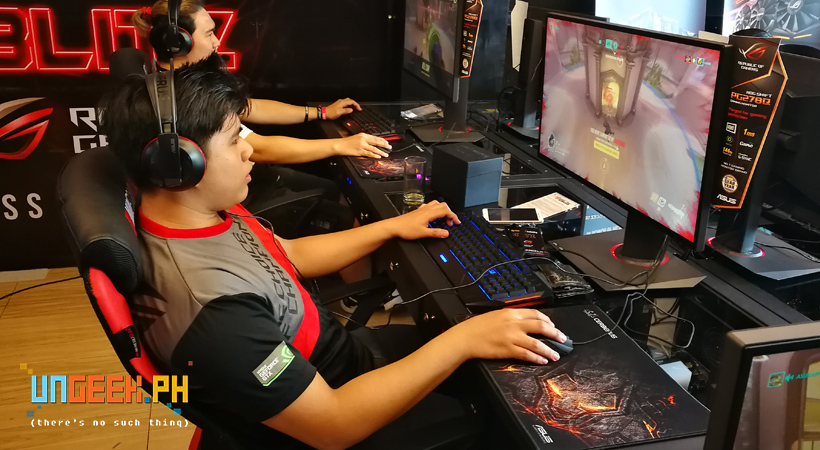 Experience GTX 1060 / 1080 PC Gaming in this crazy All-ROG Mineski iCafe in Wilson, San Juan!