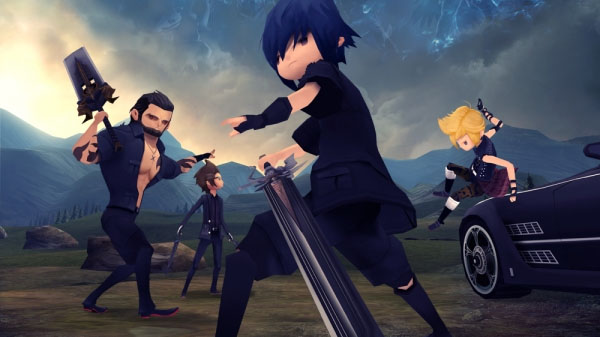 There's Going to be a Final Fantasy XV: Pocket Edition for your Smartphones!