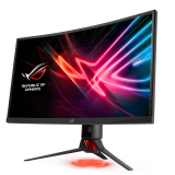 Curved, sexy, and stylish – Dream girl? More like the dream monitor! Say hello to the ROG Strix XG27VQ!
