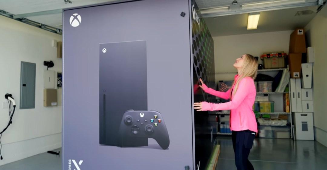 Microsoft made an actual Xbox Series X Fridge