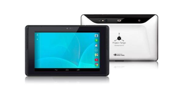 Prototipo de tableta del proyecto tango de google