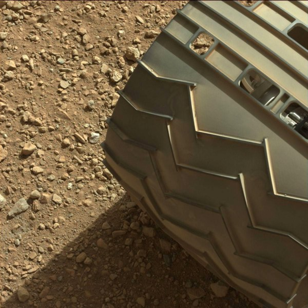 el rover Curiosity de la NASA en marte