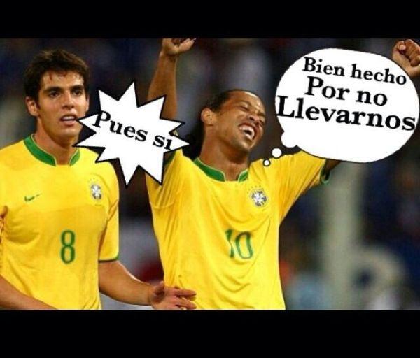 Alemania golea brasil