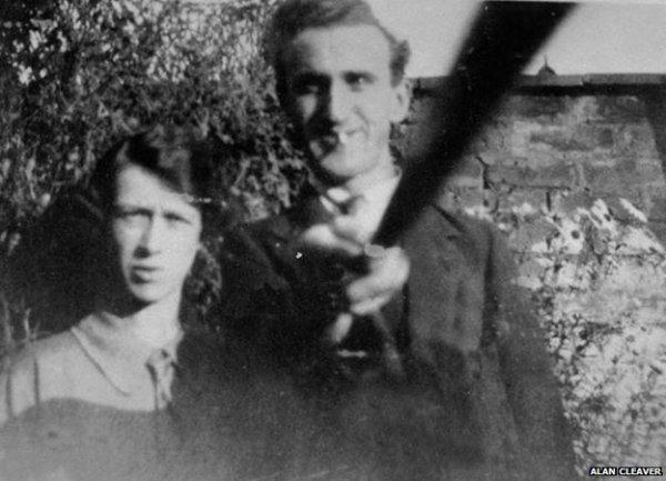 la primera selfie con un palo