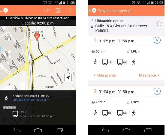 Moovit una excelente App para encontrar tu camino en la ciudad