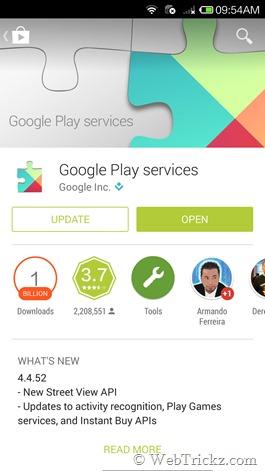 """Como solucionar el error """"Lo sentimos la aplicación Google Play services se detuvo"""""""