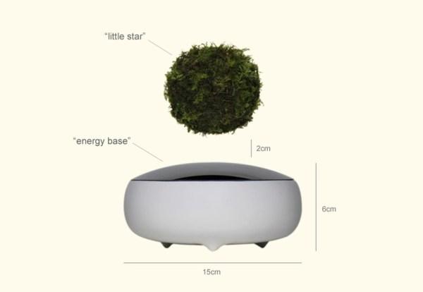 Air Bonsái es el nuevo gadget que pone a flotar las plantas