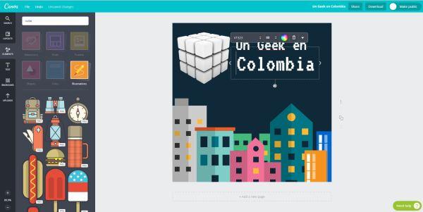 Crea tus propios diseños con Canva una excelente herramienta online