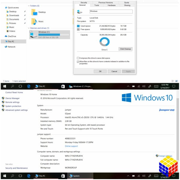 Jumper EZpad 6 M6 una Tablet PC con Windows 10 de precio accesible y buenas prestaciones