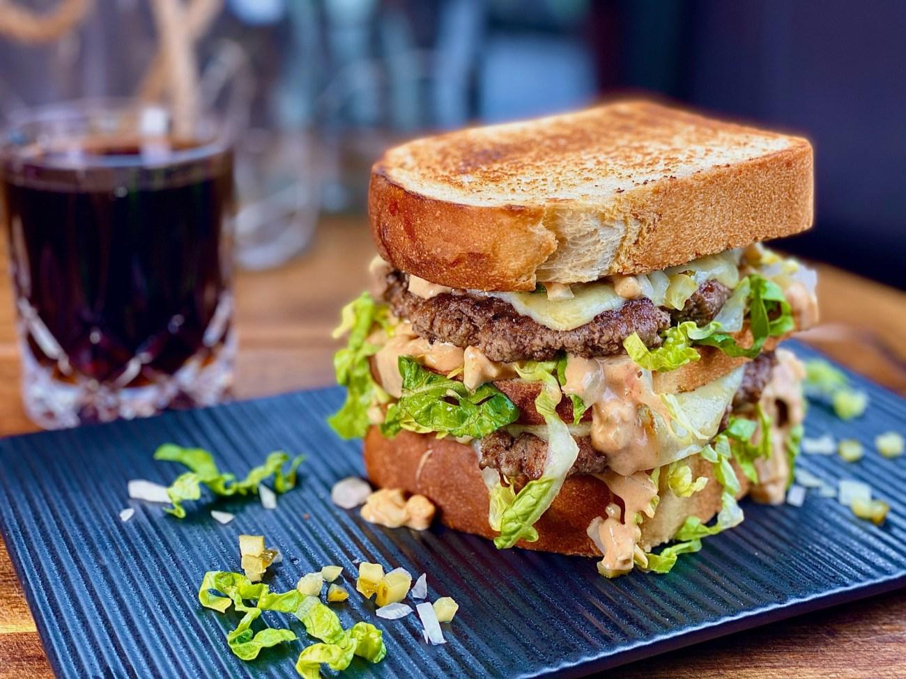 Double Beef Sandwich
