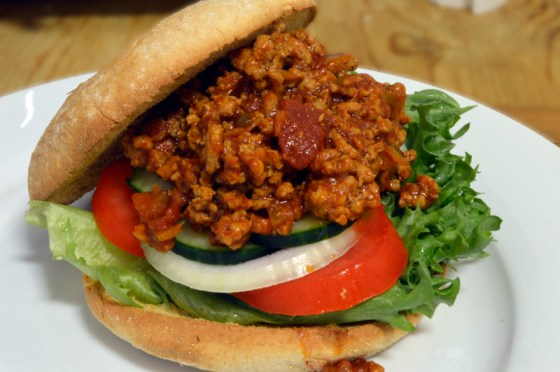Tex-Mex Sloppy Joe