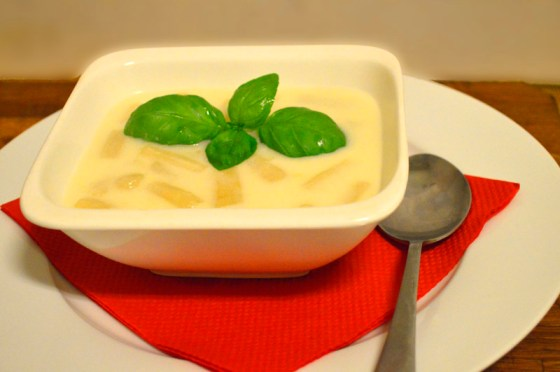 Boks-aspargessuppe
