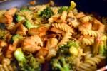 TexMex kylling med pasta