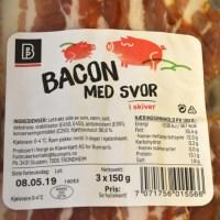 Bunnpris bacon med svor