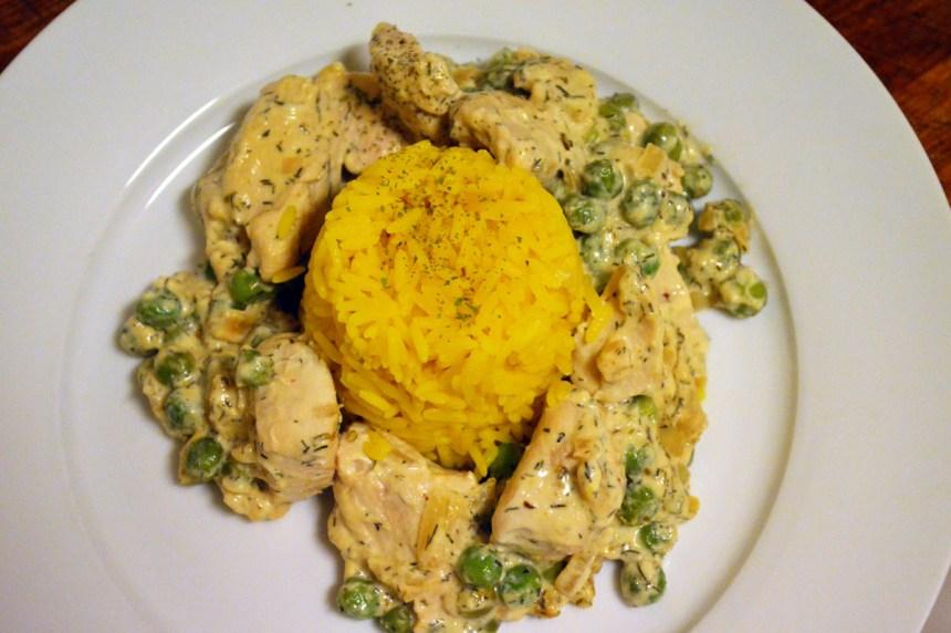 Kylling med rømme og dill