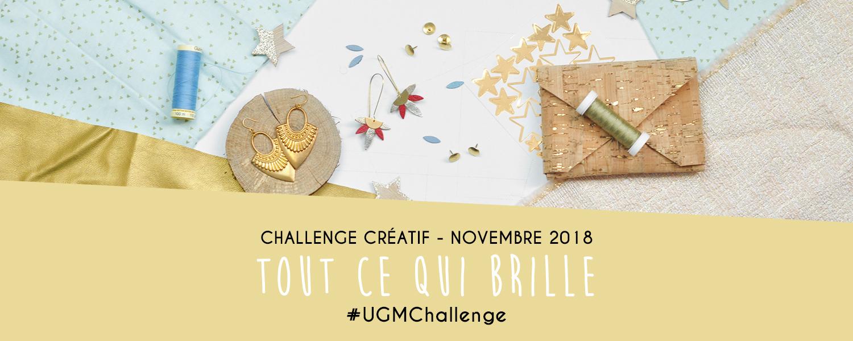 """Challenge créatif """"Tout ce qui brille"""" : novembre 2018 - Un Grand Marché"""