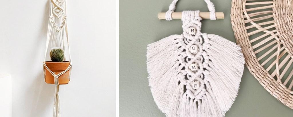 Tuto Macramé : tendance DIY, décoration - Un Grand Marché