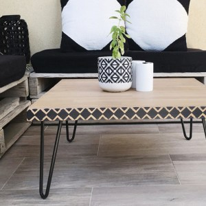 DIY table basse - Mawilo x Un Grand Marché