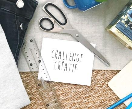 """Challenge créatif """"La Récup' ça m'occupe"""" - mai 2020"""