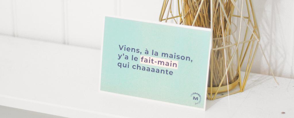 fait-main : artisanat, création, DIY, made in France - Un Grand Marché