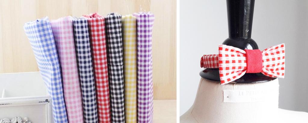 Imprimé Vichy : tendance DIY, mode, décoration - Un Grand Marché