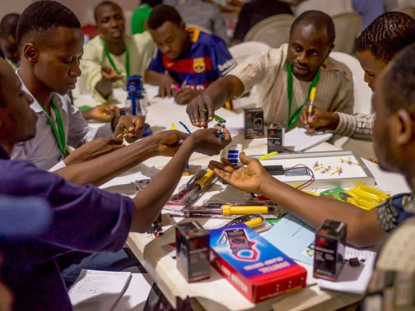 Youth in Nigeria trained in renewable energy technologies and green