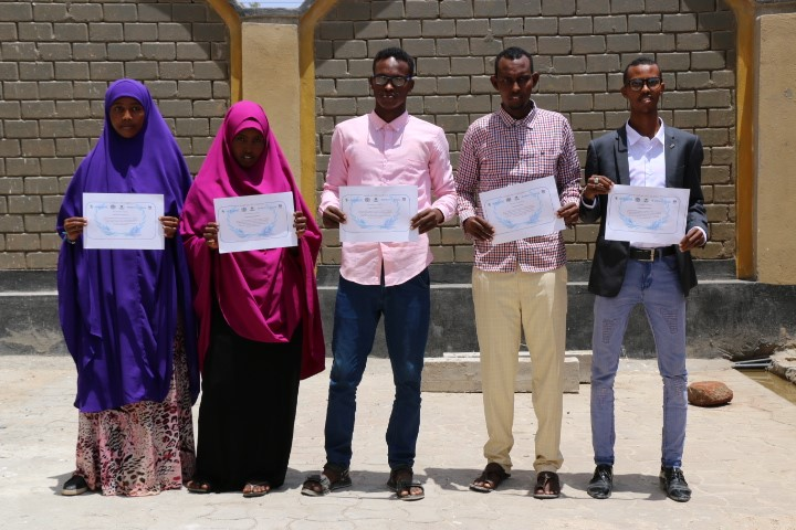 Four start-ups launched in Jubbaland following intensive