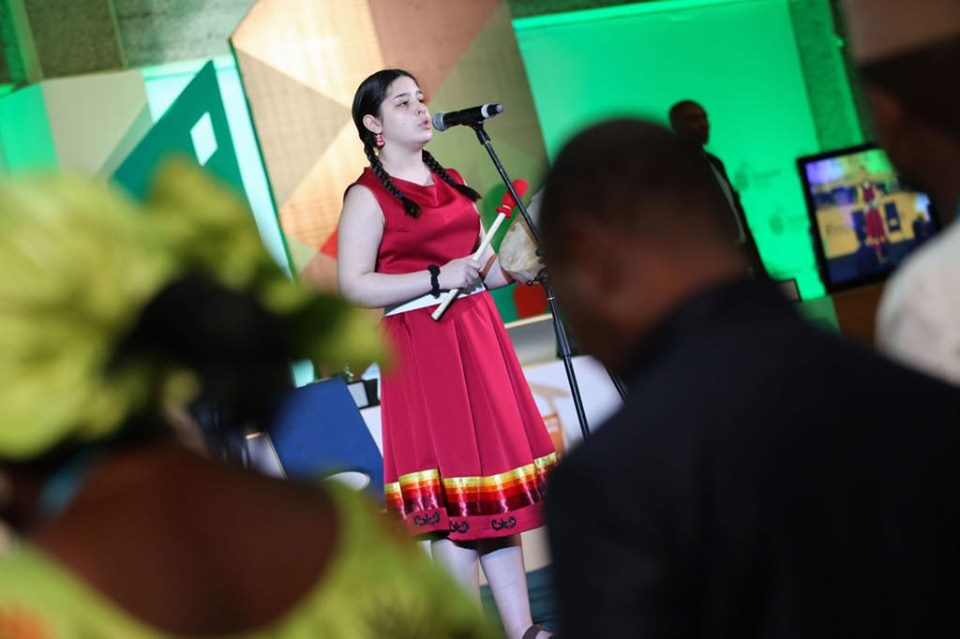 Emma Stevens at the Opening of the UN-Habitat Assembly – UN ...
