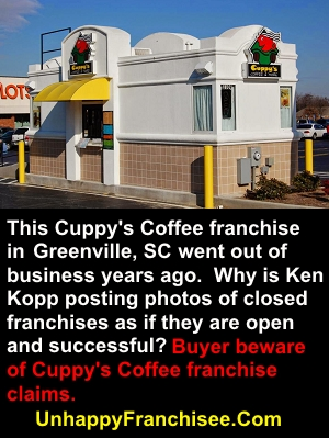 Cuppy's Coffee Drive-thru
