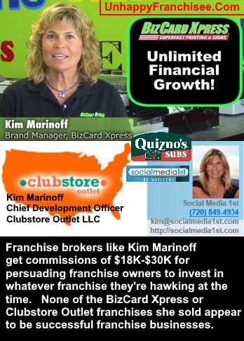 Kim Marinoff franchise