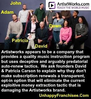 Artistworks Team