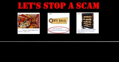 NYC Bagel Scam Ads
