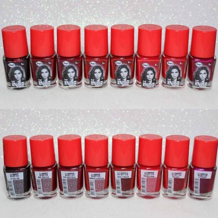 Esmalte Anitta Boom Pop vermelho