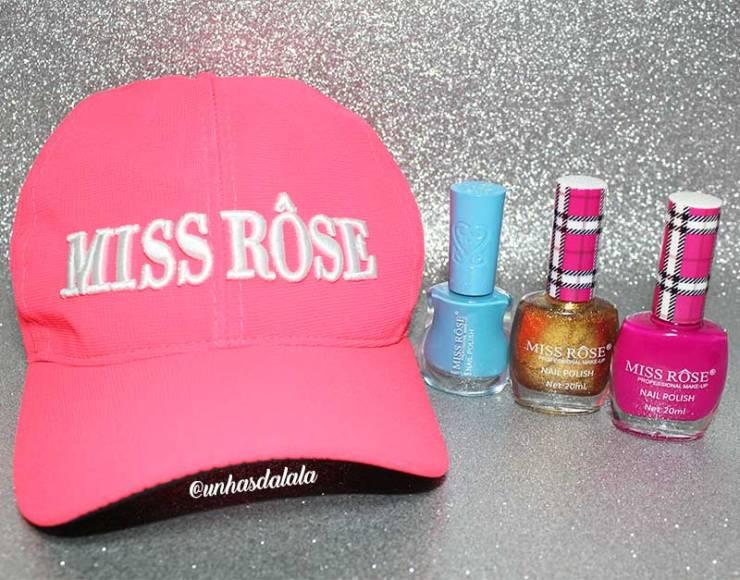 RECEBIDOS: Esmalte Miss Rôse   Novembro de 2016