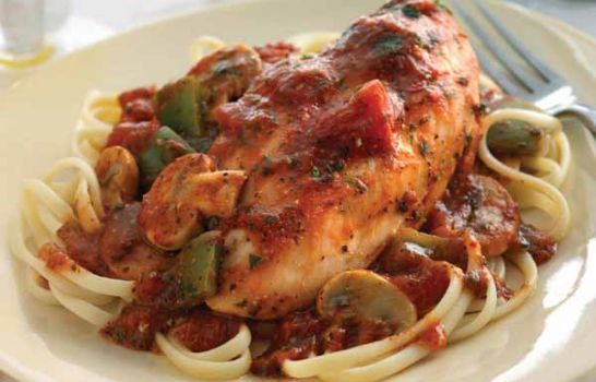 CHEF JEFF: One Byte At A Time — Chicken Cacciatore