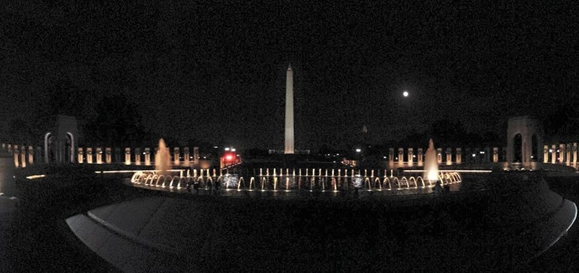 JEFF OLSON: Photo Gallery — A Night At The National Mall