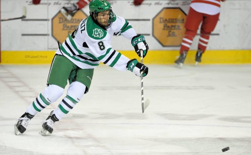RUSS HONS: Photo Gallery — National Collegiate Hockey Association, University of North Dakota Vs. Miami, November 14, 2015