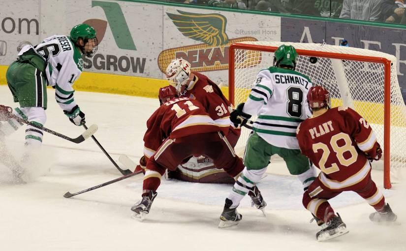 RUSS HONS: Photo Gallery — University of North Dakota Vs. Denver University, December 4, 2015
