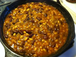 Three-Bean Skillet.