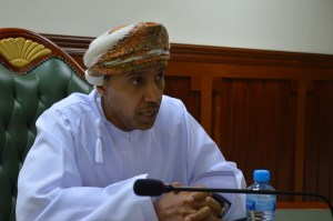 Dr. Obaid Al Shaqsi, secretary-general of the Oman Human Rights Commission.