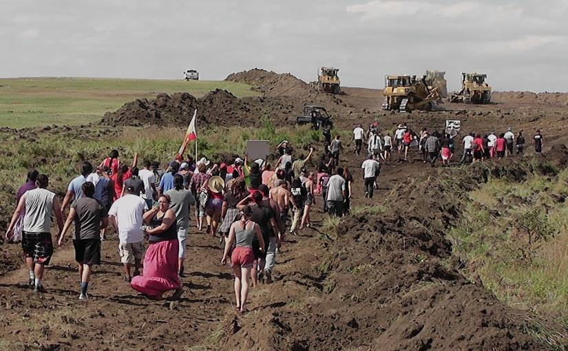 Tony J Bender: That's Life — Protesters Force Bulldozers Off Sacred Site