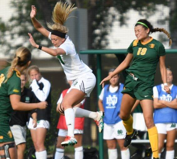 RUSS HONS: Photo Gallery —Women's Soccer, University Of North Dakota Vs. North Dakota State University