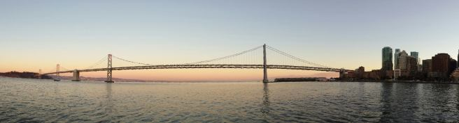 September 26: East Bay Bridge sunset
