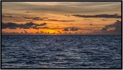December 6: Yet another Caribbean sunset, photographed a couple of weeks ago from the Island of Dominica.